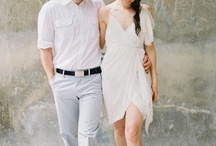 What to Wear - Women / Ideas for what to wear for engagement shoots.  Women should wear things that are form fitting or fitted at your smallest point.  There is no need to add bulk to your body with loose clothing.  That is why if you want something flowy, it is good to pair with something fitted or add a belt to give shape.