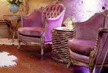 Interiors / Eclectic. Glam. Hippie. Sparkle. Color.  / by Ashley Cox / Lipstick and Berries