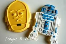 Star Wars Geek / Ever wanted to create and make the world of Star Wars come to life in your home, school, office and more? We have Star Wars related craft DIY tutorials!  We also have amassed an Jabba sized collection of Star War themed decor, inspiration, gifts, party ideas, cakes and much more!  / by Happy Hour Projects