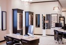 Finished Dispensaries / Some lovely offices we have helped in the past. Full dispensary design by Fashion Optical Displays.