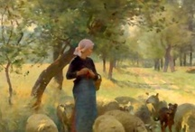 The Sheep of His Pasture / Know that the LORD Himself is God; It is He who has made us, and not we ourselves; We are His people and the sheep of His pasture. Psalm 100:3 NASB