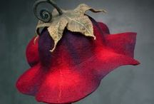 lalabug felt designs / Adventures with wool & leather :) merino hand sculpted felt & organic free range leather