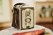 """Vintage Camera / """"While there is perhaps a province in which the photograph can tell us nothing more than what we see with our own eyes, there is another in which it proves to us how little our eyes permit us to see."""" ― Dorothea Lange"""