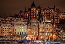Sweden & Stockholm, Sweden / by Cia Wiens