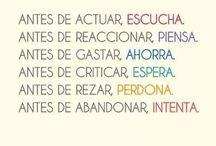 Frases en Español / by Adriana Macias