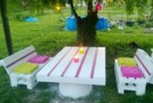 You Can Make ANYTHING with Pallets! / by Tiffany Lee