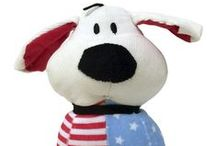 Dog is Good for Patriots / Patriotic pets!
