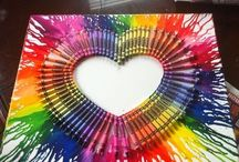 *crayon crafts / Crayon fun / by Holly Lamont