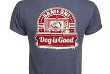 Dog is Good Men's/Unisex Apparel / Show off your love for man's best friend!