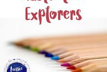 Australian Explorers / This is the board of all of your Australian Explorers teaching resources and ideas including Captain Cook, Matthew Flinders, Charles Sturt, John McDouall Stuart, Ludwig Leichhardt, Burke and Wills, Paul Strzelecki and Blaxland, Lawson and Wentworth.