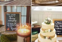 Rustic wedding ideas / The trendy rustic wedding theme has so many takes. Grab ideas and find easy ways to create your personalized  event, from invitations, giveaways to decor