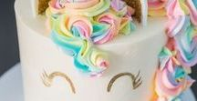 The Magical Unicorn Theme / The unicorn is trending so much this year and for good reason. Such a fun party motif!