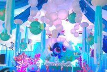 Under the Sea birthday theme