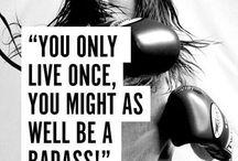 Badass Warrior Mindset / Inspiration for the Female Badass Warrior Woman!