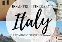 Italy Travel Inspiration / Inspiration for Italy travel, what to see, do and eat.