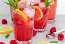 Drinks - Summery Refreshments / Non-alcoholic and alcoholic drinks, ideal for entertaining in the summer months