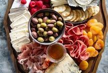 Sharing Food - Platters / A variety of platters, from fruit to cheese - perfect for any occassion