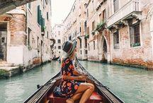 Traveling across Europe