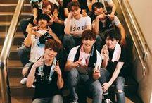 세븐틴 / Say the name, SEVENTEEN! Being a Carat is great. Naega Hosh best bias. Jun, Jeonghan and Minghao try to bias-wreck meh. helphh.