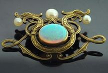 Baubles, Bangles & Beads / Jewelry - some of it is antique, some precious, some costume...all pretty / by Terrie True