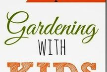 Little Gardener / Inspiration for how to get kids of all ages involved in the wonderful world of gardening.