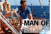MAN OF STYLE / Famous men, past and present, with great style. Take a look and get inspired. / by Style Girlfriend