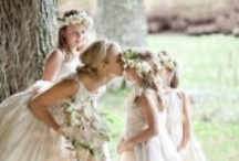 Children attending your wedding - Flower Girls and Page Boys / Corston Couture - Children are such a precious part of many weddings...here are some ideas for dressing them.