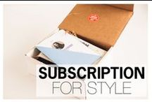 SUBSCRIPTION FOR STYLE / Subscription services that help men live more stylishly / by Style Girlfriend