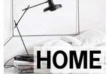 HOME / Decorate a guy's place where girls want to hang too / by Style Girlfriend