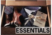 ESSENTIALS / The things every guy needs to have in his closet / by Style Girlfriend