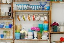 Shelves- Styling & Arrangements / by Val Drysdale