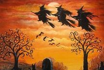 """Witches on Switches / """"Witches on switches"""" from the poem Halloween by Harry Behn - Lore, Symbolism, Ritual and Pagan Philosophical Miscellany - This board does not claim to be definitive in any way. (Is there such a thing as """"definitive"""" in the great eclectic cauldron of Pagan spirituality?) / by Terrie True"""