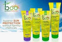 Boo Bamboo Suncare / Our brand new Boo Bamboo Suncare line is now available at Rexall!