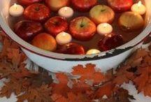 Autumn Celebrations / Halloween, Thanksgiving, Samhain, Mabon, Autumn, Harvest Festivals / by Terrie True