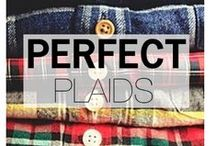 PERFECT PLAIDS / Stylish plaid style for guys / by Style Girlfriend