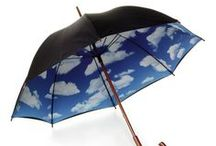 Brollies / Rain, rain, stay and play, don't wait to come back another day! / by Terrie True