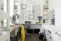 Home Office Redo / Making our home office functional and beautiful / by Heather Braman Gaton
