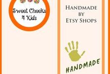 Handmade by Etsy Shops / Handmade from Etsy Shops is a group board I have created for Etsy Shop owners to share their handmade items.  Please e-mail me at sweetcheekskids2016@gmail.com if you would like to post to this board.  As well, please follow me and my boards.