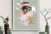 Wall Art Paintings Printable / Wall Art Paintings Printable,Abstract Paintings,Abstract Art Printable, Modern Wall Art, Art Printable, zebra abstract art, Peacock abstract art, native american, Blue Abstract Art, Abstract Print Printable enorasis