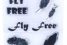 FLY FREE - Stamp Inspiration / bringing our Imagine Design Create stamp range to life