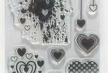 HEART MIX - stamp Inspiration
