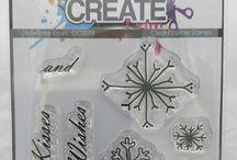 SNOWFLAKE KISSES A7 stamp set