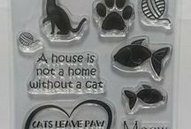 CAT PAW PRINT A6 STAMPS - inspiration