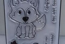 FINLEY THE FOX A7 STAMP - inspiration