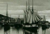 Tromso-Old Vintage pictures-Postcard-Tromsø Norge Postkort