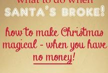 Frugal Christmas Ideas & Tips / Plan the perfect xmas on a frugal budget - great ideas and tips!!