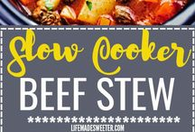 Slow Cooker Recipes / Great recipes to try in the slow cooker!