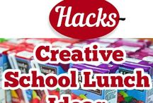 School Lunches / Here are some great ideas for kids lunches!