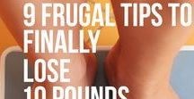Weight Loss On A Budget / Here are ideas and tips for how you can lose weight on a frugal budget