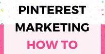** Pinterest Marketing ** / Everything for those Marketing on Pinterest!!
